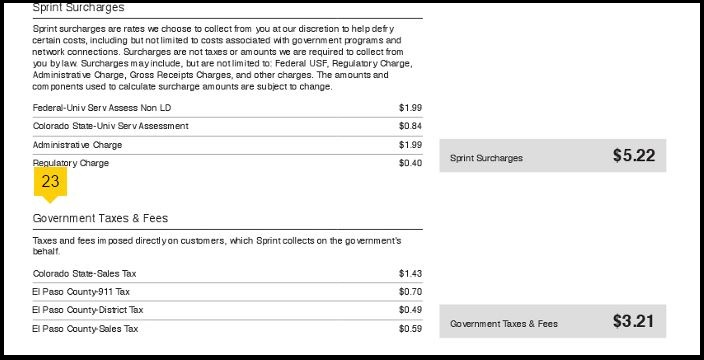 sprint bill image