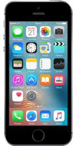 Apple iPhone SE (Front)
