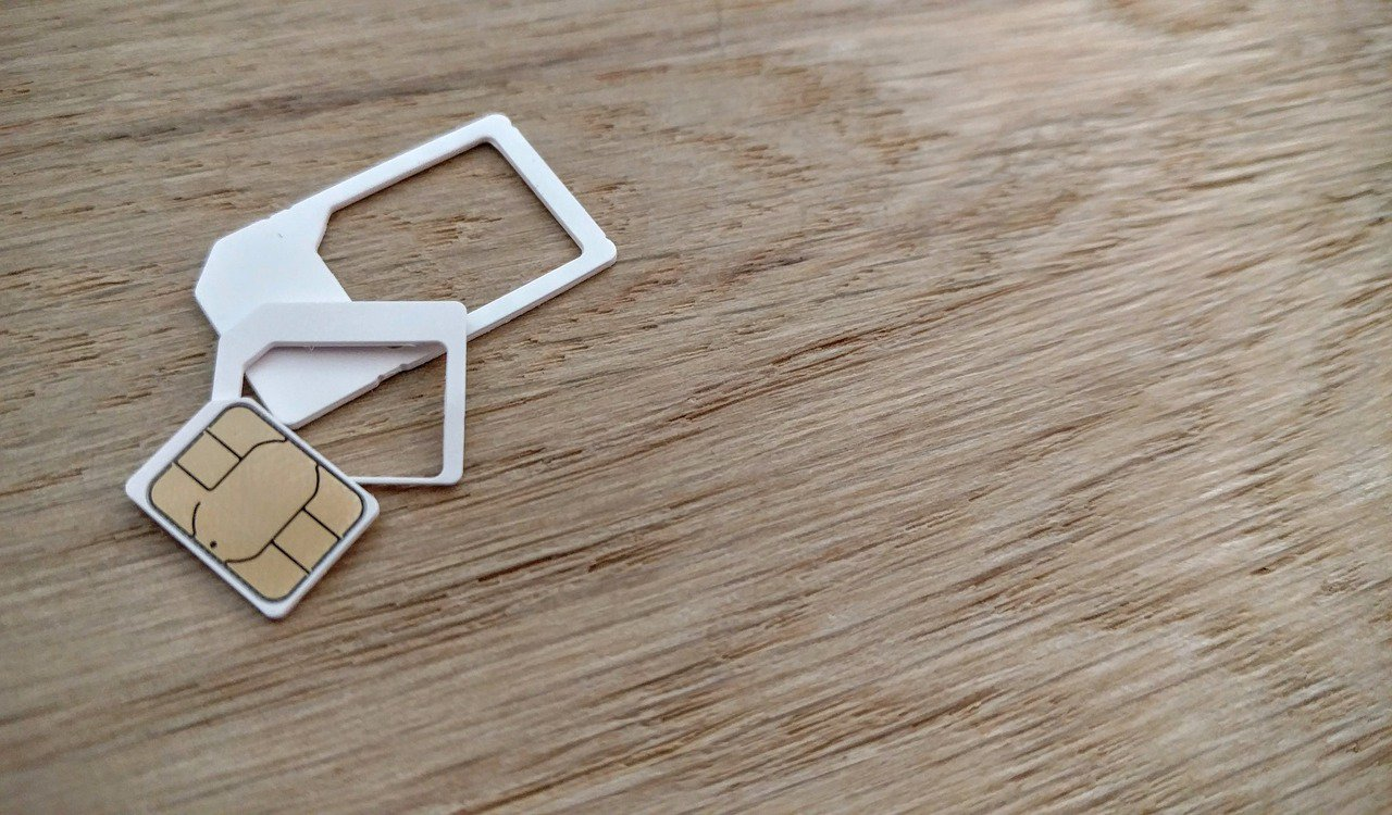 SIM cards come in a variety of sizes