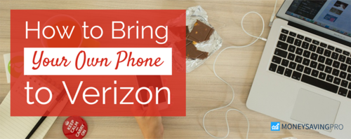 Bring Your Own Phone to Verizon