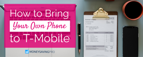 Bring Your Own Phone to T-Mobile