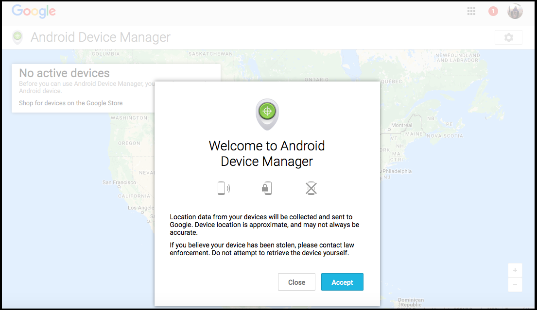 use the online android device manager to locate your phone