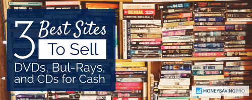 Sell Your DVDs or CDs Online for Cash