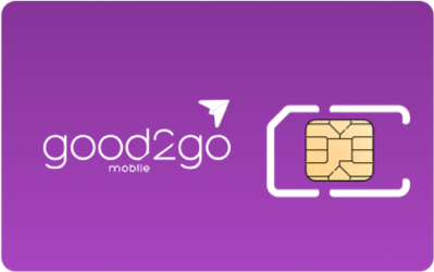 Good2Go Mobile Sim Card - Horizontal