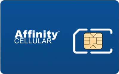 Affinity Cellular SIM Card - Horizontal