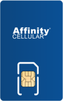 Affinity Cellular Sim Card - Vertical