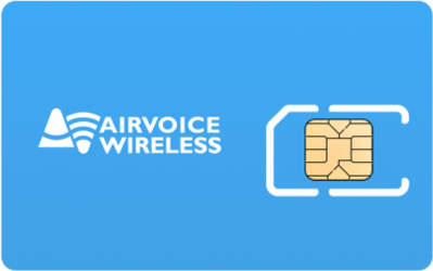 Airvoice Wireless SIM Card - Horizontal