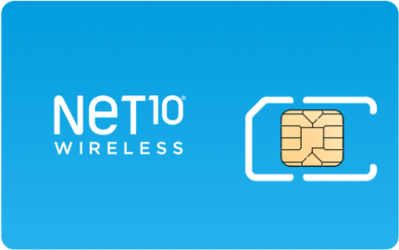 Net10 Wireless SIM Card - Horizontal