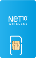 Net10 Wireless Sim Card - Vertical