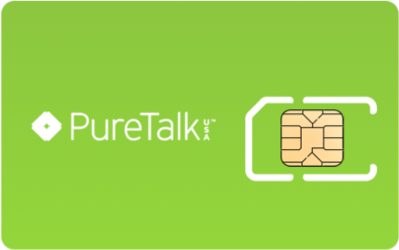 Pure Talk SIM Card - Horizontal