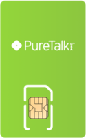 Pure Talk Sim Card - Vertical