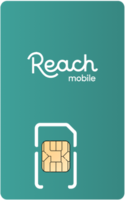 Reach Mobile Sim Card - Vertical