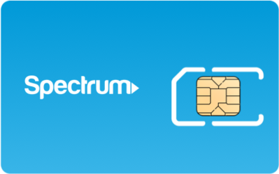 Spectrum Mobile SIM Card - Horizontal