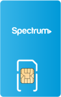 Spectrum Mobile Sim Card - Vertical