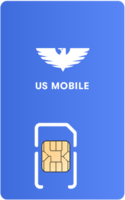 US Mobile Sim Card - Vertical