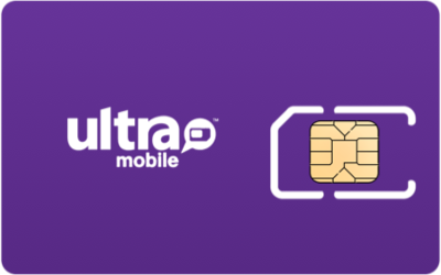 Ultra Mobile SIM Card - Horizontal