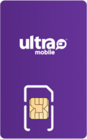 Ultra Mobile Sim Card - Vertical