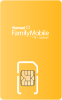 Walmart Family Mobile Sim Card - Vertical
