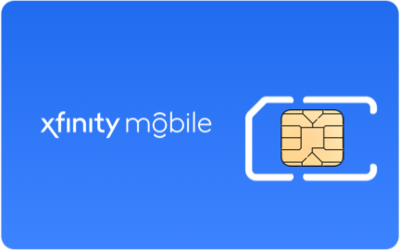 Xfinity Mobile SIM Card - Horizontal
