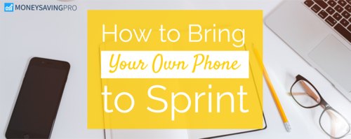 Bring Your Own Phone to Sprint