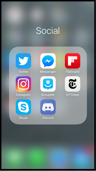 locate the app you want to delete on iphone