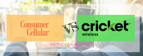 Consumer Cellular vs Cricket